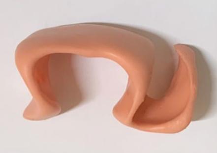 Ortosis de silicona per deformitat dits del peu